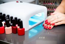 led dryers and manicure polish kit