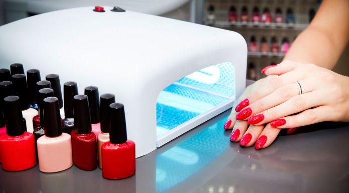 led dryers and manicure polish kit