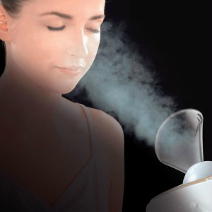 steam your face with face steamer