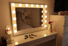 Chende White Hollywood Lighted Makeup Vanity Mirror Review