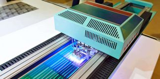 large uv coating machine