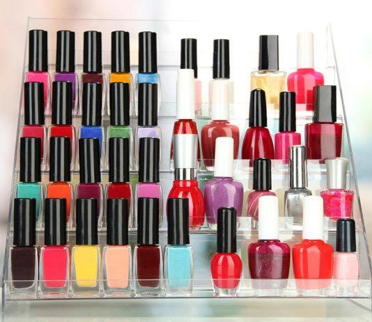 best wall mounted nail polish racks
