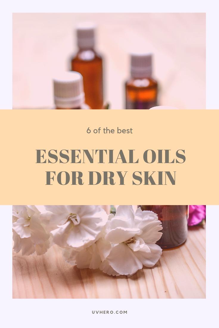 essential oils for dry skin pinterest